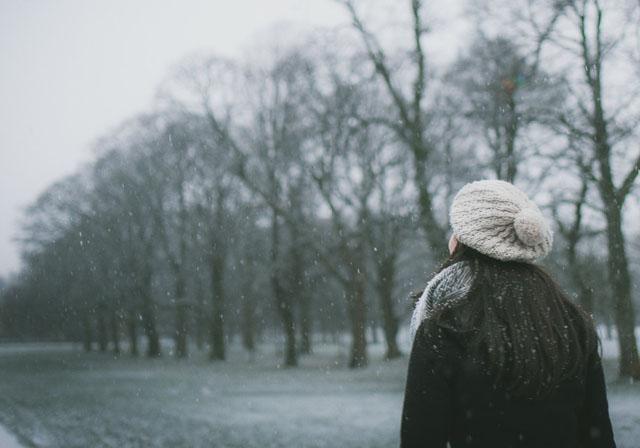 雪国の女性イメージ